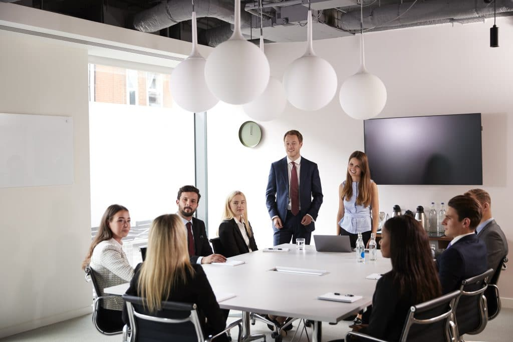 Group business discussion