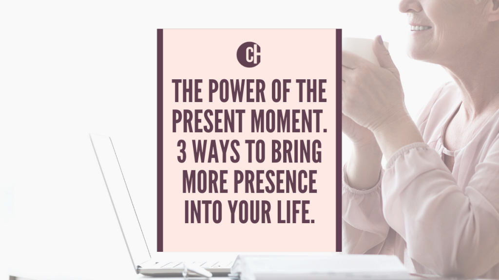 The power of the present moment picture