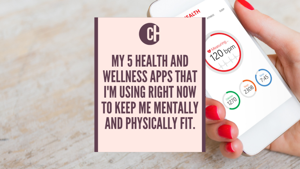5 health and wellness apps I'm using right now
